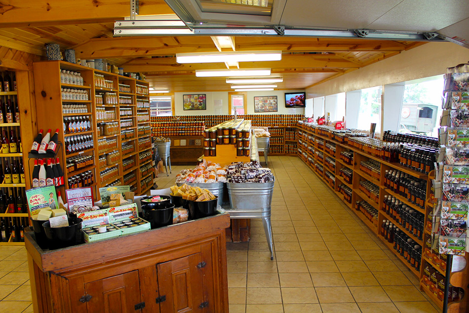 Koepsel's Farm Market, Door County, Wisconsin, Homemade Jams, Jellies, Butters,Canned Goods,Door County Wines,Maple Syrup,Beers, Wisconsin Cheeses,Cherries,Cherry,Pies,chocolate covered cherries,baked goods,farmers markets in Door County,Baileys Harbor, Jacksonport,cheeses,smoked fish,candy,candies,door county antiques,blueberries,strawberries,apple pie