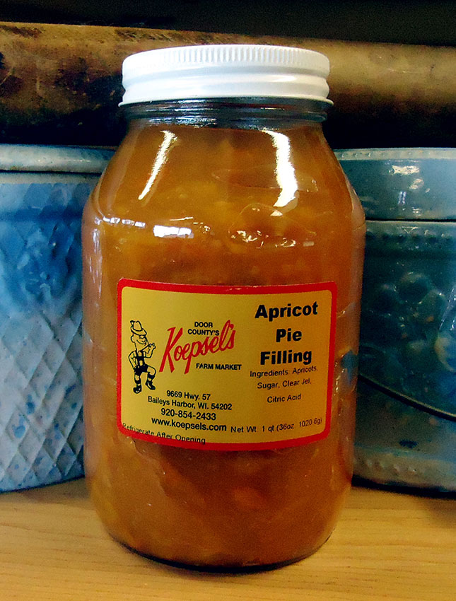 Apricot Pie Filling