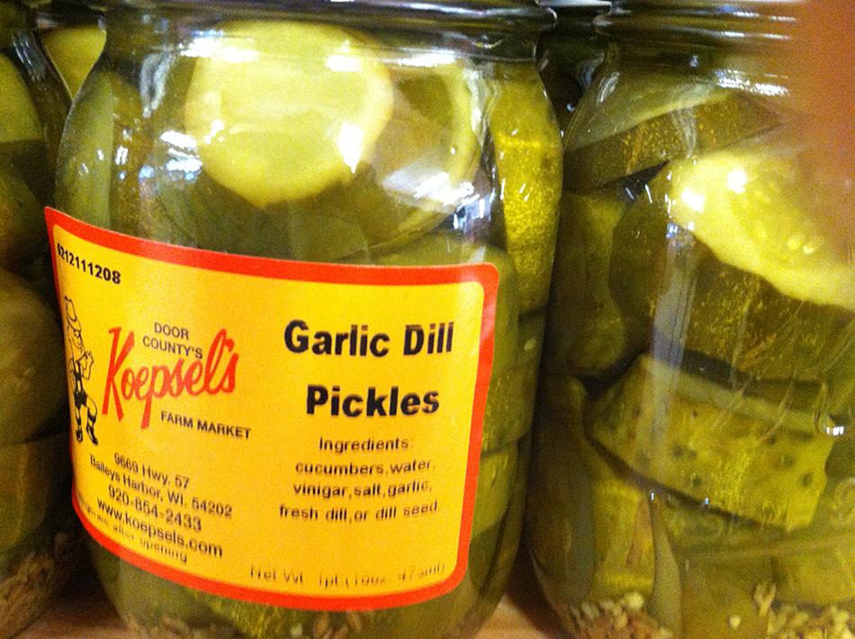 Garlic Dill Pickles Recipe — Dishmaps