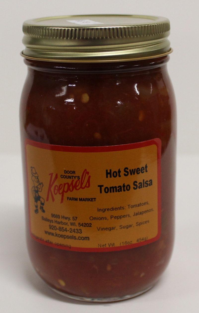 Hot Sweet Tomato Salsa