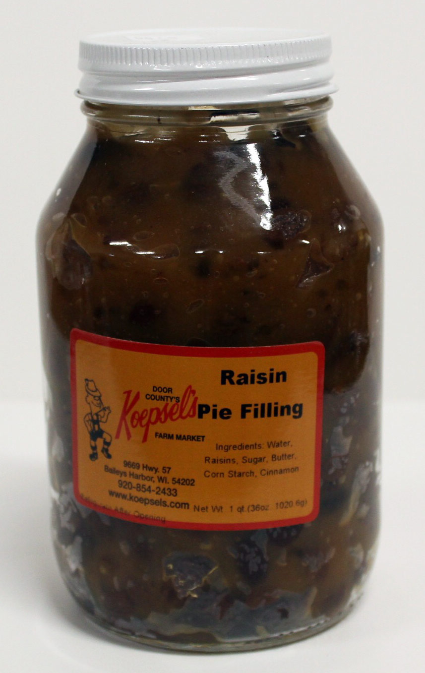 Raisin Pie Filling