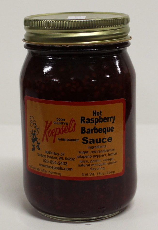 Hot Raspberry Barbeque Sauce